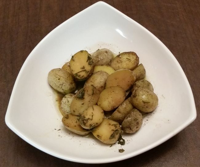 Butter Poached                               Potatoes