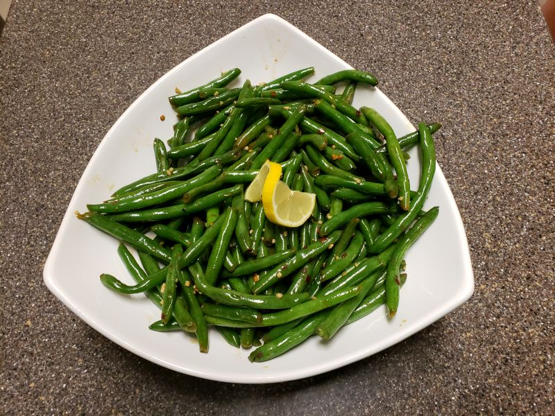 Seared                 Green Beans