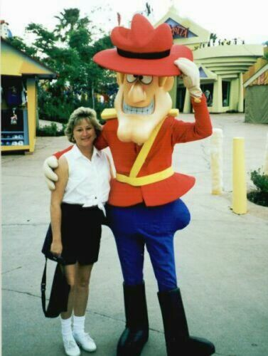 Susan at Universal's Island of Adventure