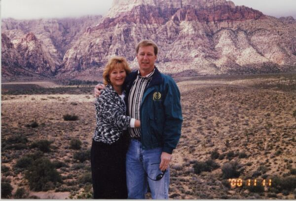Susan & I at Red Rock